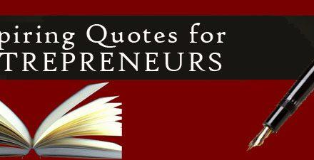 Quotes from Entrepreneurs