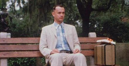 Never Give Up Movie – Forrest Gump