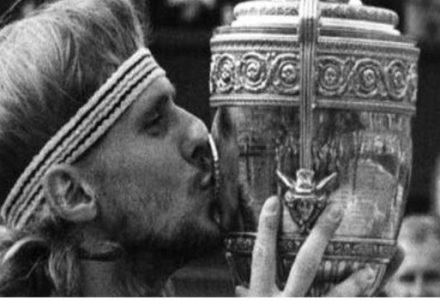 Bjorn Borg Showed Persistence and a Never Give Up Attitude