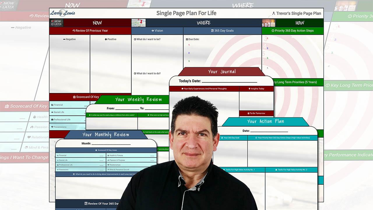 Single Page Plan Coaching
