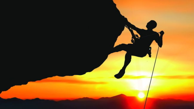 To what heights are you willing to challenge yourself?